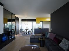 """We stumbled upon a lovely apartment located in Athens and remodeled by Spacelab Architecture. Simple and friendly, the crib looks perfectly suited for a young couple. Here is more information from the architects: """"This small remodeling project consists of a two bedroom apartment on the ... #Apartment, #Structured, #Stylish"""