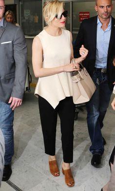 Sienna Miller Nails Laidback Summer Silhouttes