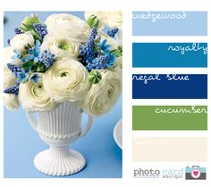 blues and green - one of my favourite colour combinations...so fresh!