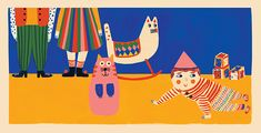 It's Nice That | Jana Glatt's children's book-style illustrations are packed with colour and expression