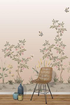 #CHINELLA #LESVANGARDESDARIBAU #sophiapega #decoracion #chinnoiserie #tropical - Encuentra este papel pintado en www.papelespintadosaribau y/o en nuestra tienda de Barcelona (Aribau nº71)