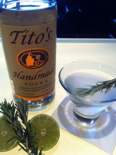Rosemary Gimlet - Tito's Handmade Vodka
