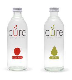 Botellas con un diseño limpio, que permite ver la pureza del contenido.