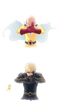 Genos and Saitama ~ One-Punch Man (Parody, Comedy, Action, Sci-Fi, Super Podere . Saitama One Punch Man, Anime One Punch Man, Tatsumaki One Punch Man, One Punch Man Funny, Fanarts Anime, Manga Anime, Little Misfortune, Anime City, Animes Wallpapers