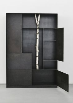 'trees', a collection of shelving units by andrea branzi