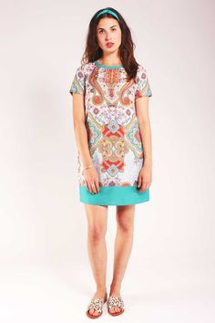 Sugarhill Boutique Paisley Border Tunic Dress – Fox + Feather