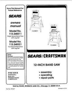 Details about Delta Sawbuck Frame & Trim Saw Instruction