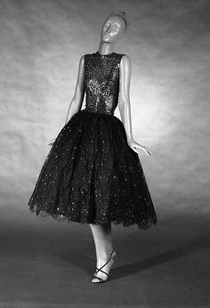 Evening Dress, Norman Norell, 1955.