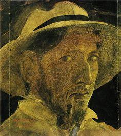 John Bauer (self-portrait 1908)