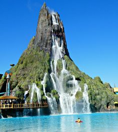 Universal Orlando Volcano Bay is NOW OPEN! This water theme park is unlike any in the country and I have all the details you need. Orlando Travel, Orlando Vacation, Orlando Disney, Downtown Disney, Cruise Vacation, Disney Cruise, Orlando Florida Attractions, Orlando Resorts, Orlando Events