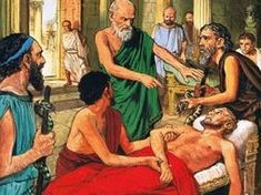 Hippocrates discouraging the use of primitive medical techniques, ancient Greece Revision Games, Primary History, Learning Sites, Ancient Greece, Herbal Medicine, Natural World, Giclee Print, Remedies, Nature