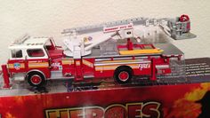 1:50 Mahanoy City Mack CF Tower Ladder Truck, by Corgi (US53807) #Corgi