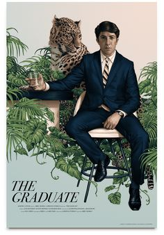 """Rory Kurtz will sell AP copies of his poster for The Graduate later today. It's a 24"""" x 36"""" screenprint, has a small AP edition, and will cost $110. It goes up"""