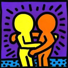 (untitled, 1987) Keith Haring has participated in biennials around the world and he painted several murals in Australia and Japan, besides Europe and the United States. Keith Haring wanted a kind of art that was public. For him it was inconceivable to separate art from real life. His drawings, which are on the primacy of the line your greatest strength, survive today and are imitated by many, with the most diverse goals.