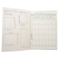 Keri Smith came to us with the idea for a more unstructured datebook meant to inspire creativity more than strictly plan your life and we thought that would be a fun project to add to our spectrum of
