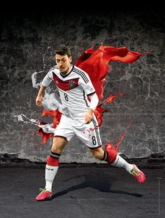 Ozil Germany #GER 2014 FIFA #WorldCup Brazil Campaign - Players on Behance