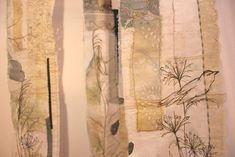Cas Holmes Textile Artist UN Wayside Grasses  Life, home and work by Cas Holmes textile artist