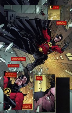 Tim Drake, Red Robin.
