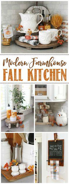 Fall Kitchen Home Tour