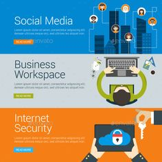 Social Media and Business Banners