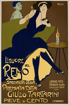 1900/'s Italy Bitter Pastore Milano Food /& Wine Advertisement Art Poster Print