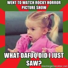 Image result for the rocky horror picture show memes