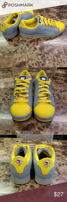 """RBK BBC Ice Cream Pharell Williams Shoes SZ 10.5 Nice pair of Ice Creams in excellent condition. Please see all photos these shoes are like new. Nice two tone yellow and gray, they definitely """"pop"""". Priced to sell. Feel free to contact me for additional pics or information. Thanks for looking! Reasonable offers considered. RBX Shoes Sneakers"""