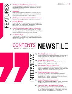 Excellent Table Of Contents Design Examples  Magazine Street
