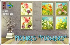 """Annett's Sims 4 Welt: Pictures """"Flowers"""""""