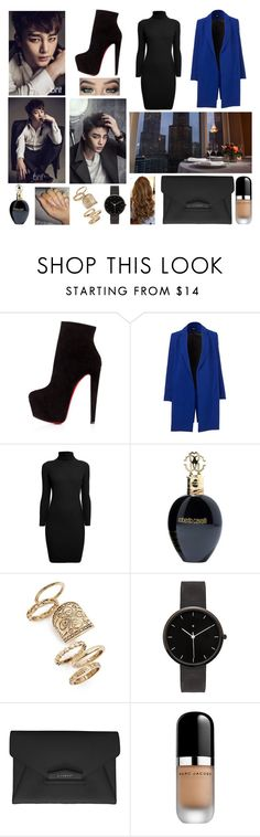 """""""Restaurant w/ Seo In Guk"""" by dounia-bts-swag ❤ liked on Polyvore featuring Christian Louboutin, Rumour London, Roberto Cavalli, Topshop, I Love Ugly, Givenchy, Marc Jacobs, DateNight, restaurant and imagines"""