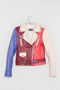 M.A.C x Nasty Gal Stunner Leather Moto Jacket