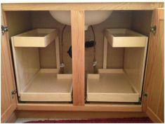 Image result for under cabinet knife storage
