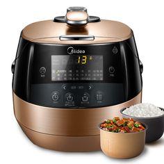 Midea/美的 WQS50C1XM電壓力鍋WIFI雙膽智能飯煲5L高壓鍋特價正品