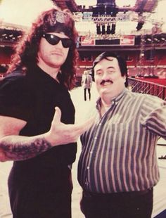 Undertaker and Paul bearer