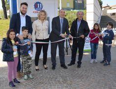Foto di Leonardo Andreaus, Resto del Carlino. Inaugurazione Casa dell'Acqua CON.AMI nel Comune di Dozza. #inaugura #casadellacqua #dozza #conami