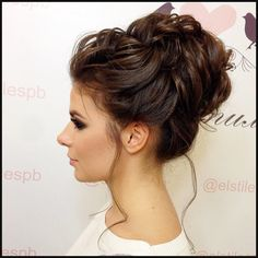 Wil je even iets anders met je lange haar? 13 opgestoken kapsels ... | Einfache Frisuren