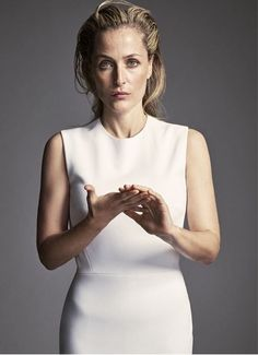 andersondaily: Gillian Anderson for next week's The Edit magazine.