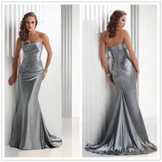 Vestido Formatura/casamento Cetim Sereia -no Brasil - R$ 369,90 em Mercado Livre