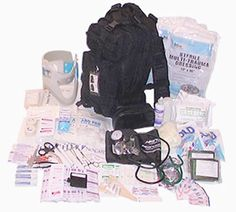 Amazon.com: Fully Stocked Tactical Trauma Kit First Aid Kit Bag: Health & Personal Care