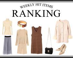 Weekly Hit Items Ranking