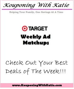 Target 10/9-10/15: Money Maker Similac, FREE Suave Shampoo, and Stock Up on Cases of Diapers!!! | KouponingWithKatie
