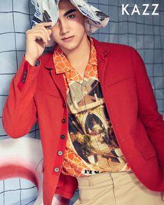 Drake, My Boys, Fangirl, Thailand, Handsome, Leather Jacket, Magazine, Actors, Blazer