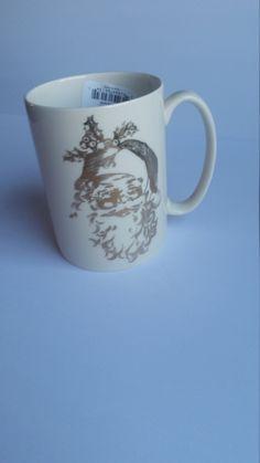 New Lenox Santa Mug, Lenox Naughty or nice Mug, Vintage Lenox Christmas Mug Lenox Christmas, Christmas Mugs, Santa Mugs, Vintage Farmhouse Decor, Cool Mugs, Nice, Tableware, Gifts, Christmas Mug Rugs