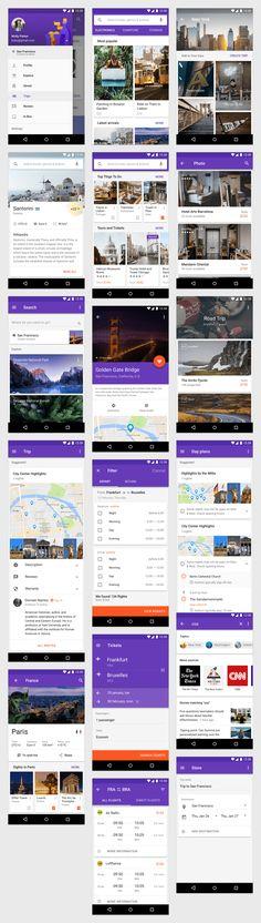 Material Design Kit — App Templates