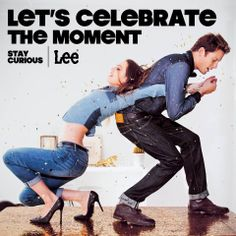 【Let's Celebrate Moment】 著上牛仔,即使工作或假日,毋須花巧配襯,讓牛仔融入生活的每一刻。牛仔陪你四處歷險,探索都市的新鮮事,捉緊好奇每一刻。