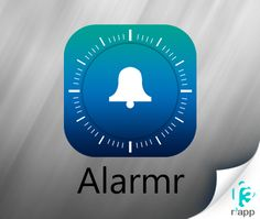 Introducing #Alarmr app at http://www.r3app.com/alarmr