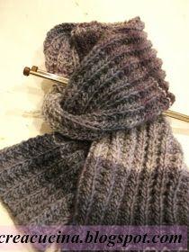 Occorrente gr. 200 di lana MISTERO trends Adriafil ferri n. 8 Punto finta  costa inglese (punto double face) numero di maglie multipl. 49fb0862478a