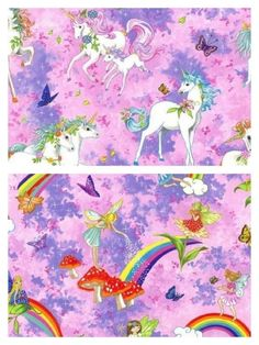 Cotton Fabric Pretty Please Unicorns or Fairies (Nutex) wide Unicorns, Fairies, The 100, Cotton Fabric, Pretty, Crafts, Faeries, Manualidades, Cotton Textile
