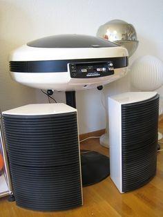 Weltron 2007 Record Player , Weltron 2006 Speaker Retro Radios, Record Players, Hifi Audio, Retro Home, Retro Futurism, Retro Design, Home Accessories, Mid-century Modern, Furniture Design