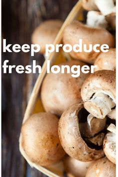 Reduce food waste with these tips to keep your produce fresh longer. Diabetic Side Dishes, Veggie Side Dishes, High Protein Smoothies, Fermented Cabbage, Pinterest Recipes, Pinterest Food, Healthy Women, Food Waste, Fruit And Veg